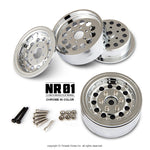 NR01 1.9″ beadlock wheels (Chrome)