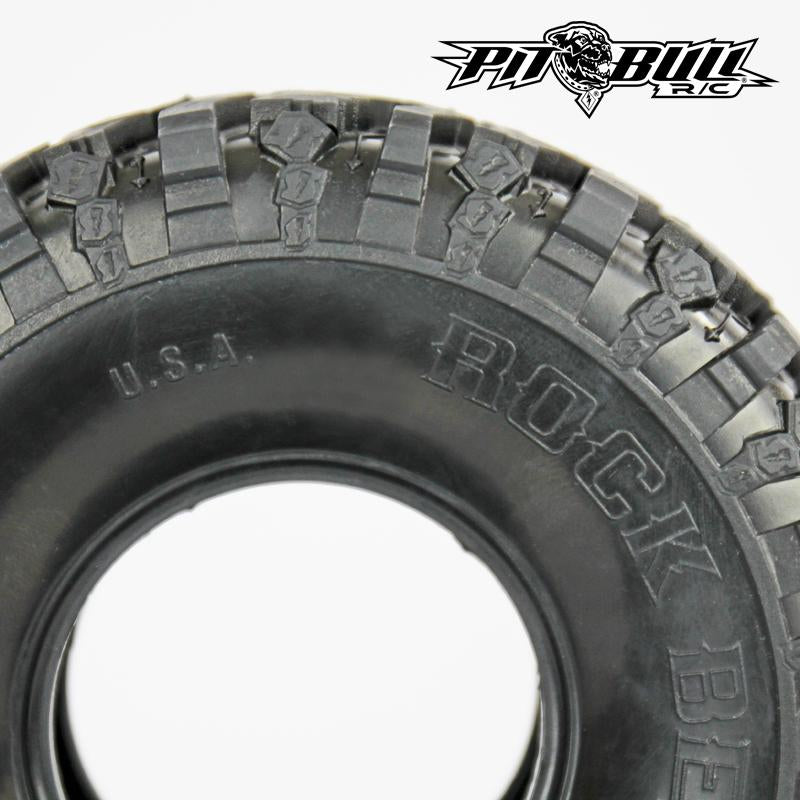PB9002AK - PIT BULL - 2.2 ROCK BEAST II SCALE RC TIRES // ALIEN KOMPOUND // NO FOAM - 2pcs