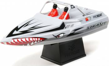 "PRB08045T1 Sprintjet 9"" Self-Right Jet Boat RTR Silver"