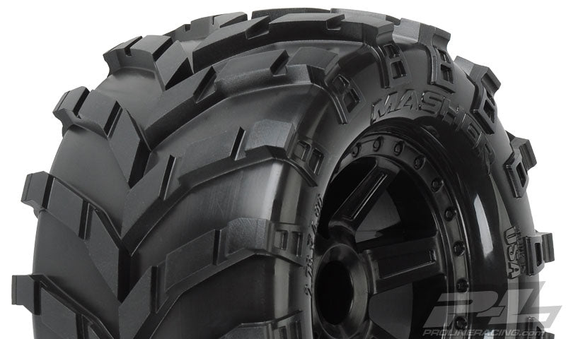 Masher 2.8, All-Terrain Desperado Blk Whl: NRU,NST