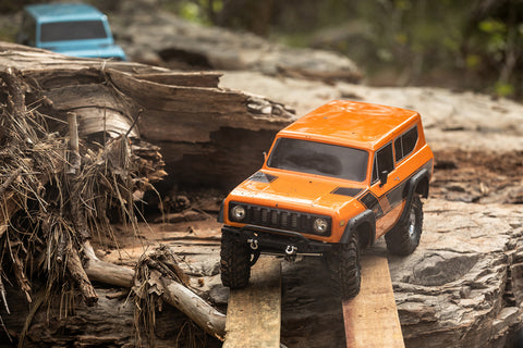 GEN8 Scout II 1/10 Scale 4x4 Truck RTR, Orange