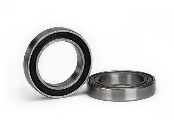 5106A - Traxxas Ball bearing, black rubber sealed (15x24x5mm) (2)