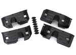 8018 - Traxxas Fenders, inner, front & rear (2 each)/ rock light covers