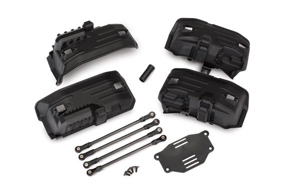 8058 Traxxas Chassis conversion kit, TRX-4 (long to short wheelbase)