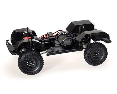 Vanquish Products VS4-10 Pro Rock Crawler Kit w/Origin Half Cab Body (Clear) VPS09003