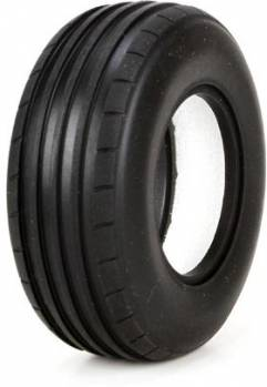 FR Tire, Ribbed w/Foam, Soft, 40mm (2): Glamis Uno