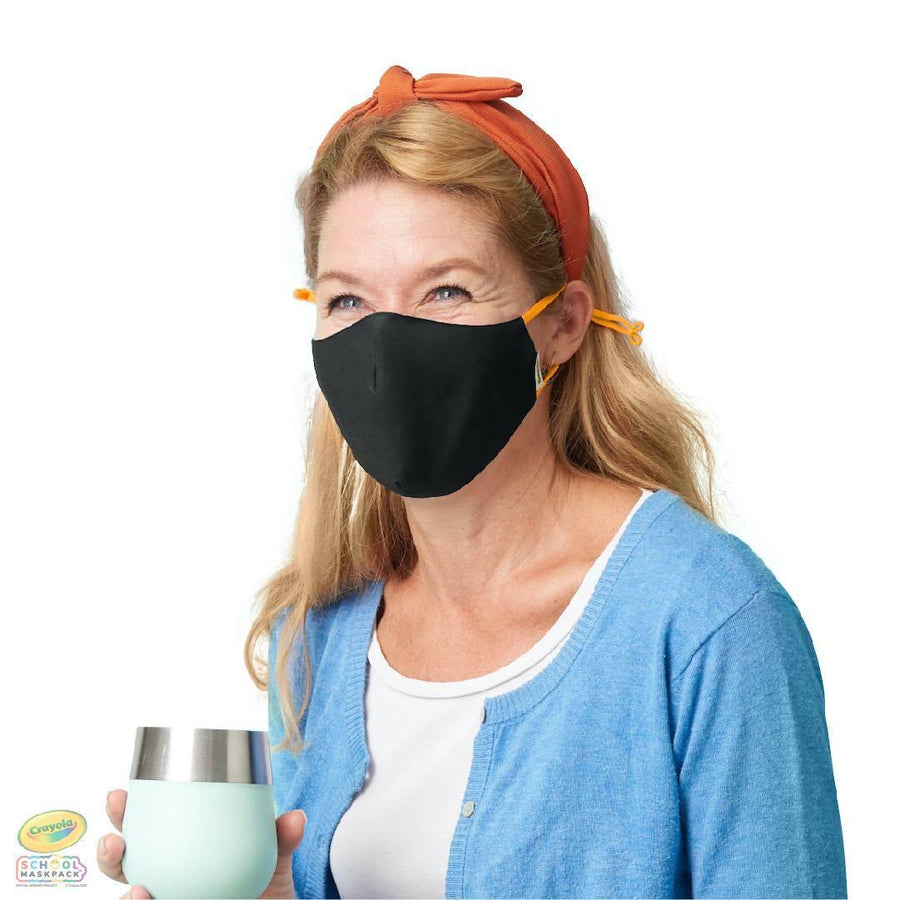 Crayola™ Teen/Adult Reusable Cloth Face Mask Set, Earth Colors