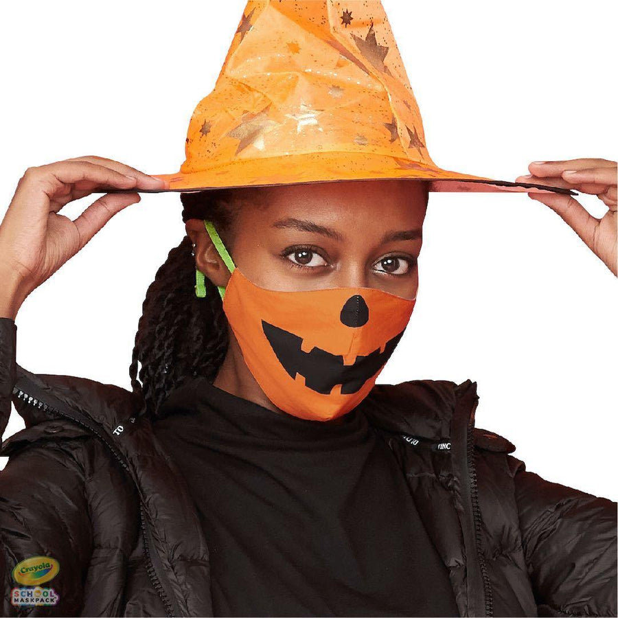 Crayola™ Adult Mask Set, Halloween, 5 Masks for Adults or Teens