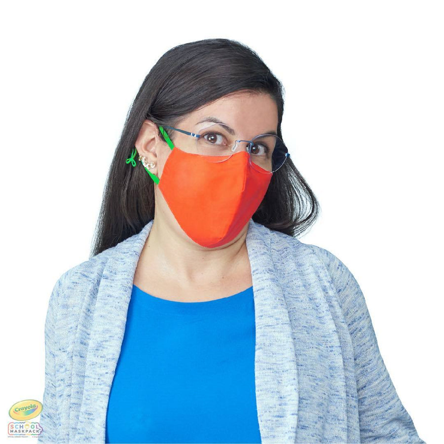 Crayola™ Adult Mask Set, Cool Colors,  5 Masks for Adults or Teens