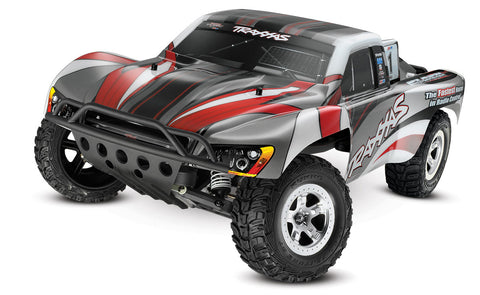 1/10 Slash 2WD RTR Short Course Truck Silver/Red