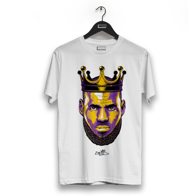 NBA LeBron James T shirt