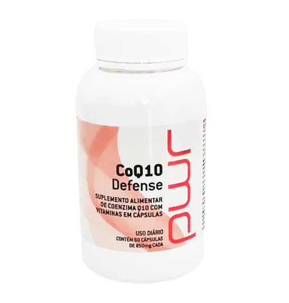 COQ 10 Defense (60 cápsulas de 850 Mg) - Essencial para células do corpo
