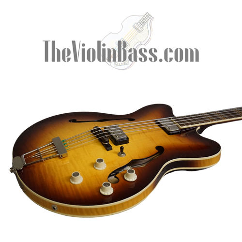 Used Hofner CT Verythin Light Sunburst Near Mint with Case