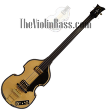 Load image into Gallery viewer, Used German 5000/1 Deluxe Fretless Mint Condition with case