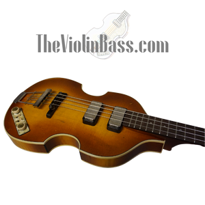 New German Made Hofner Premium 61 Reissue Relic with case
