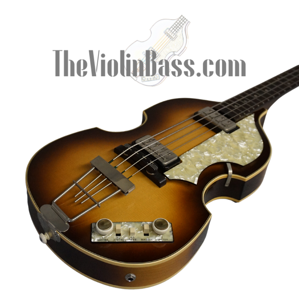 Used German Hofner 500/1 62 Reissue with tweed case Near Mint Condition