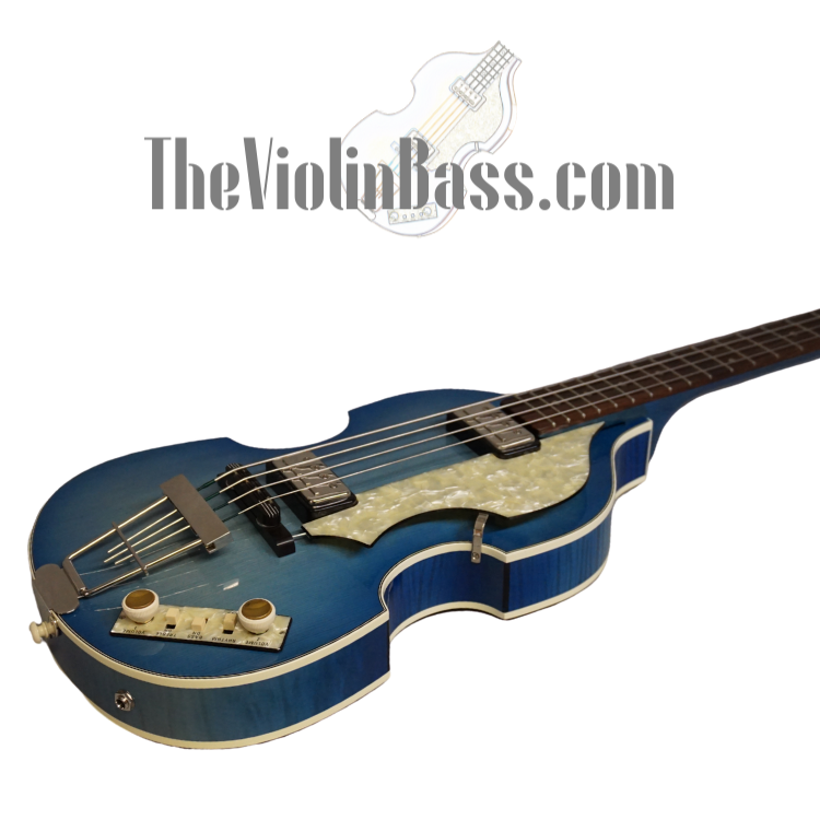 Used German Hofner 500/1 Blueburst Custom Shop