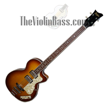 Load image into Gallery viewer, German Made Hofner Club Bass w/Cavern Spacing Sunburst Mint Condition