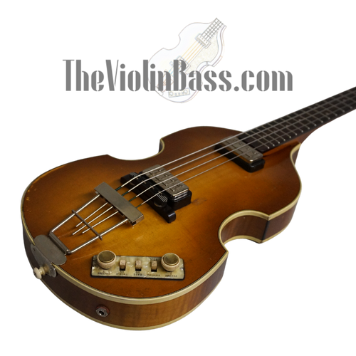 New German Made  Hofner 500/1-63 Relic with Tweed Case