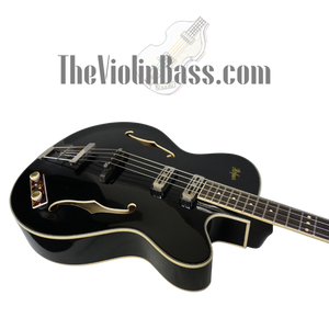 Hofner HCT500/5 CT President Bass Gloss Black w/hardhsell case Excellent Condition