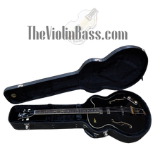 Load image into Gallery viewer, Hofner HCT500/5 CT President Bass Gloss Black w/hardhsell case Excellent Condition