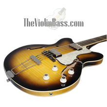 Load image into Gallery viewer, Hofner HCT500/7 CT Verythin Bass Sunburst w/hardhsell case