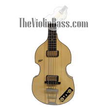 Load image into Gallery viewer, 2016 Hofner German Made 500/1 V62 WHP Natural  Mint Condition