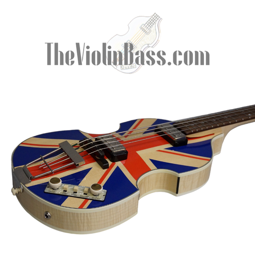 2012 Hofner Diamond Jubilee Bass Union Jack #47/60 Mint Condition
