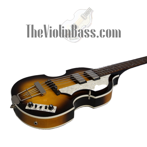 Used Hofner CT Cavern Sunburst Violin Bass Mint Condition with case