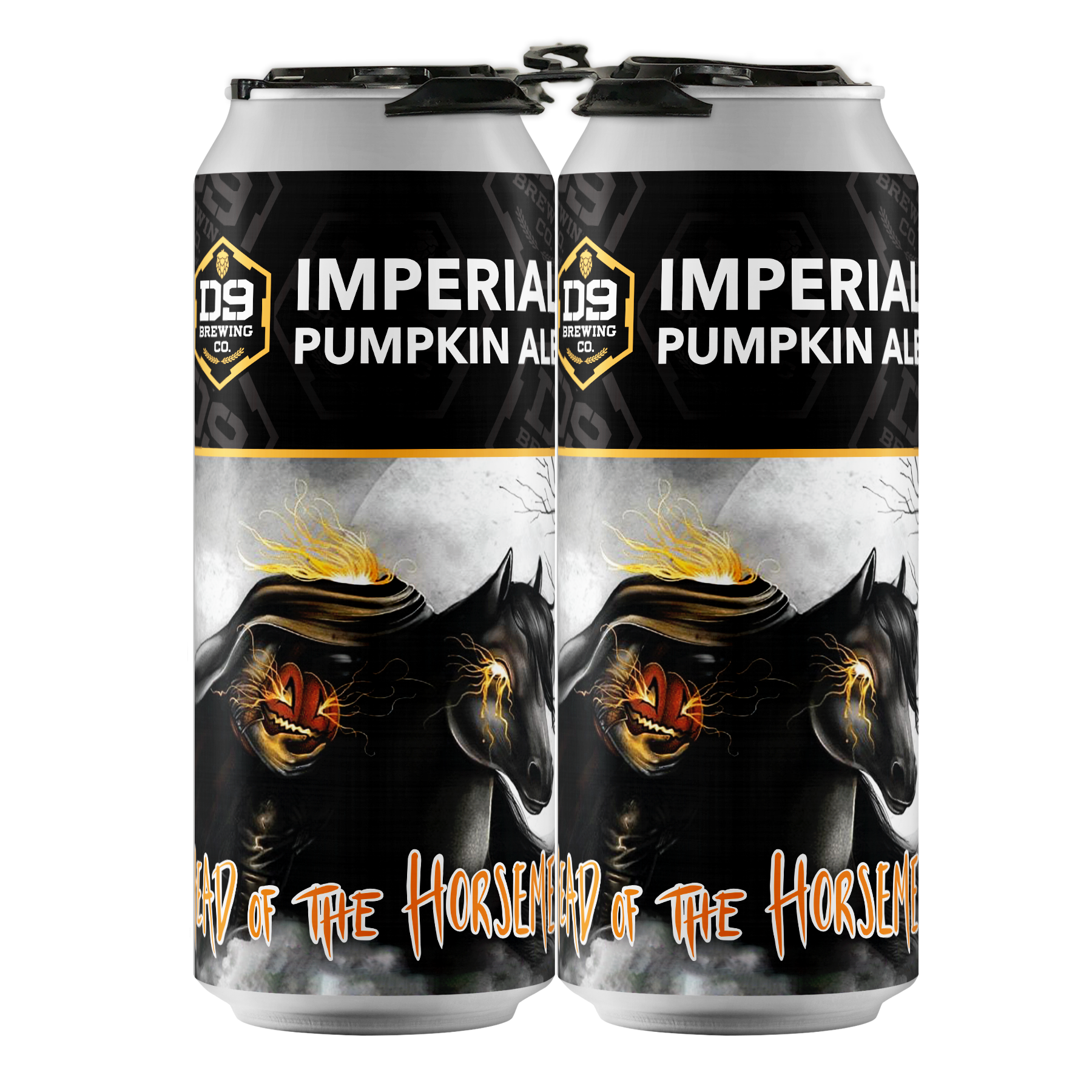 "D9 Brewing | ""Head of the Horseman"" - Imperial Pumpkin"