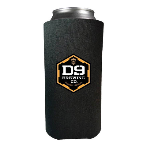 *COMING SOON* D9 Brewing | Black Tall Can Koozie