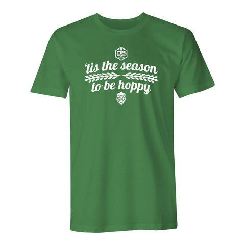 "D9 Brewing | ""Tis the Season"" Unisex Green Tee"