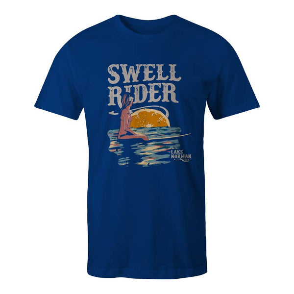 "D9 Brewing | ""Swell Rider"" Unisex Royal Tee"