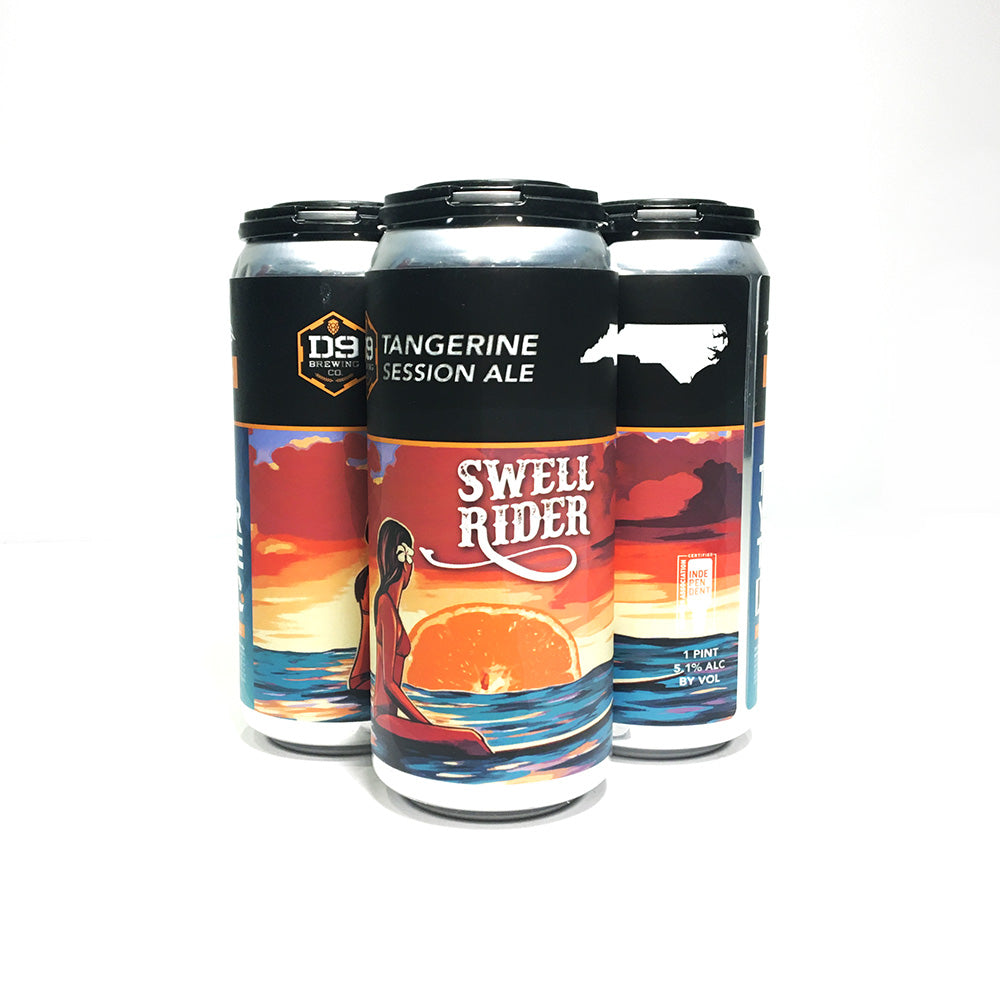 D9 Brewing | Swell Rider - Tangerine  IPA