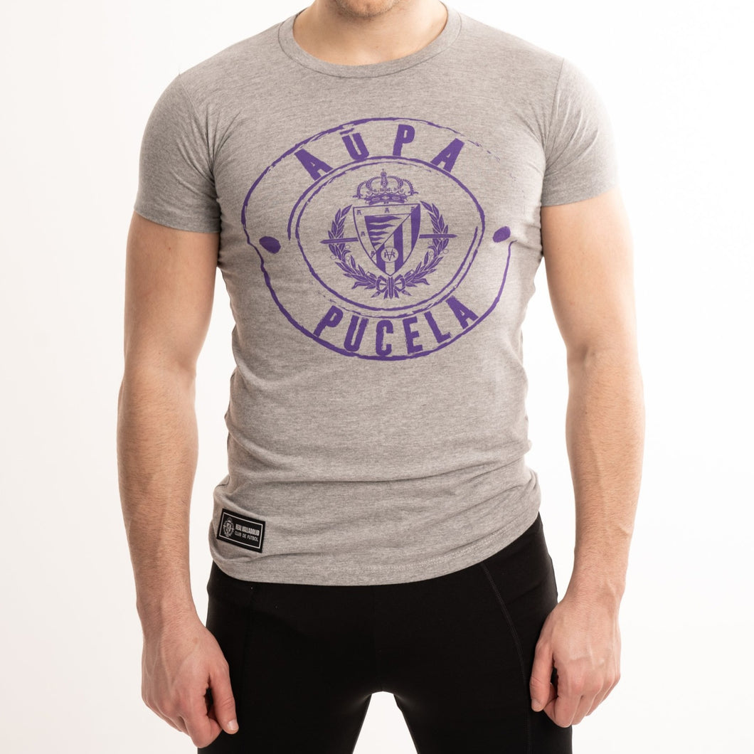 CAMISETA GRIS REAL VALLADOLID