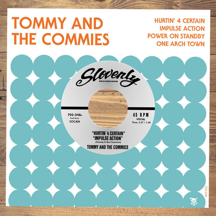 "TOMMY AND THE COMMIES ""Hurtin' 4 Certain"" EP - Hipnosis"