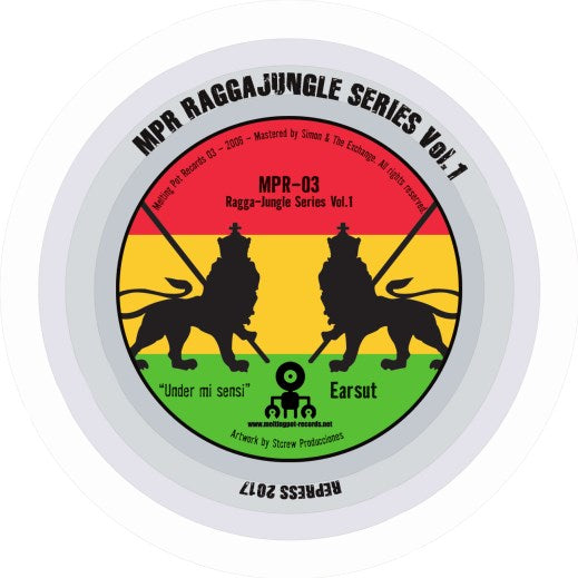 Earsut, 417 - Ragga-Jungle Series Vol.1 (Melting Pot Records - MPR03) - Hipnosis