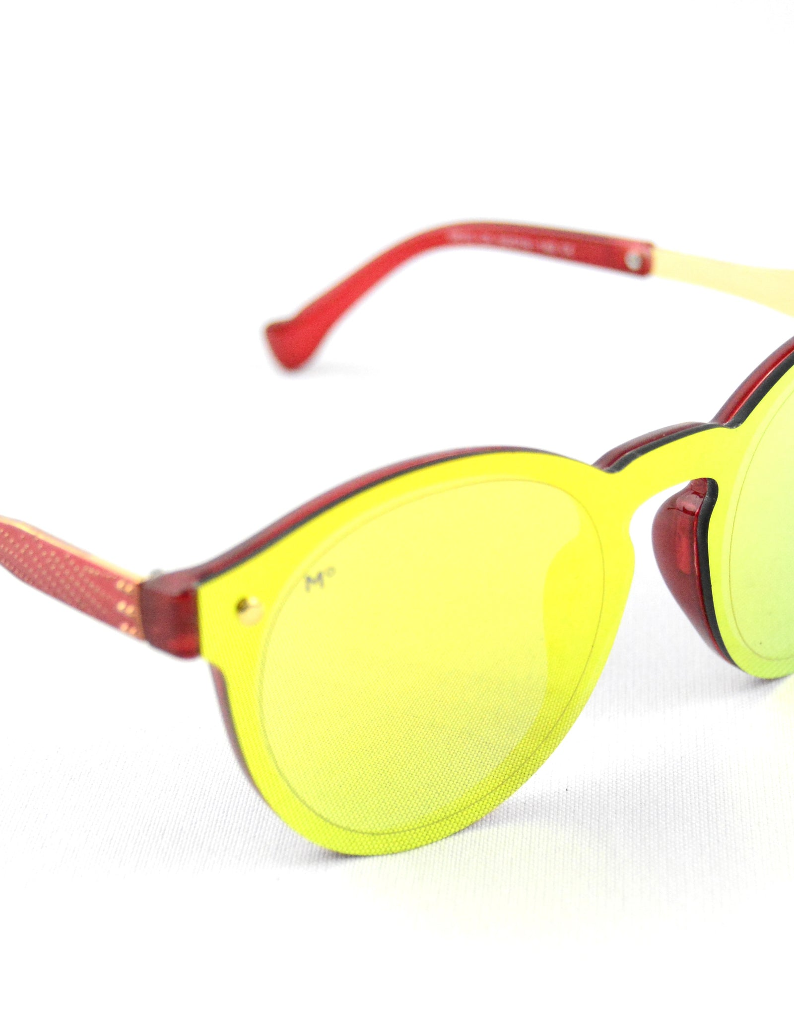 Lentes de sol Brighton Golden/Red