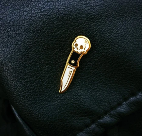 Skull Knife Pin - Hipnosis