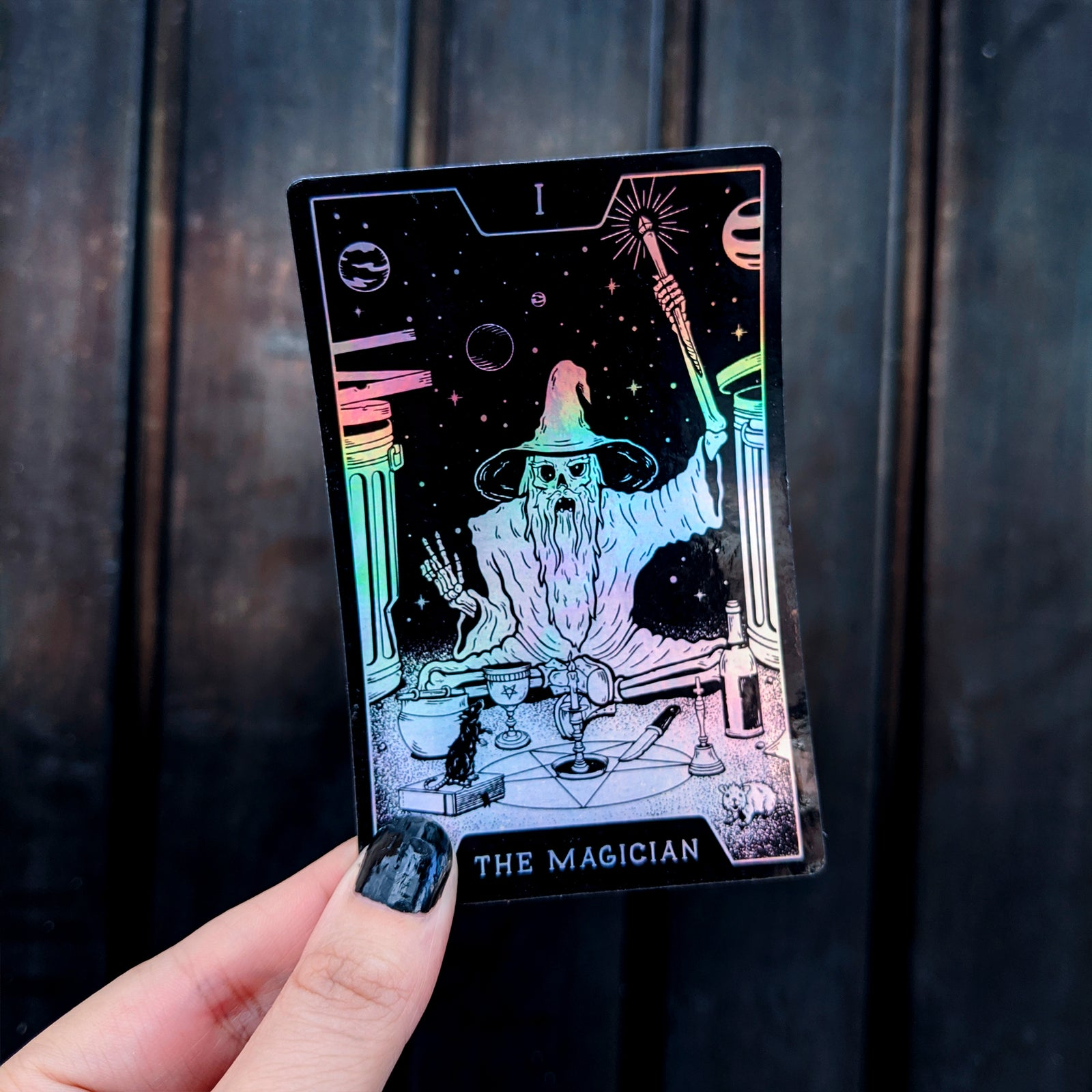 "Sticker ""I The Magician"" por Wytch Lab - Hipnosis"