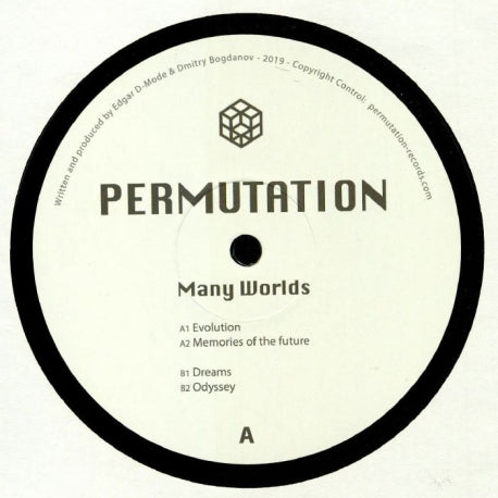 Permutation - Many Worlds (Permutation - PERMUTATION01) - Hipnosis