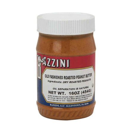 16oz Jar of Bazzini Old Fashioned Roasted Peanut Butter