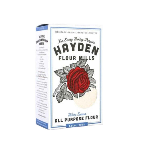 2lb box of All Purpose Flour from Hayden Flour Mills