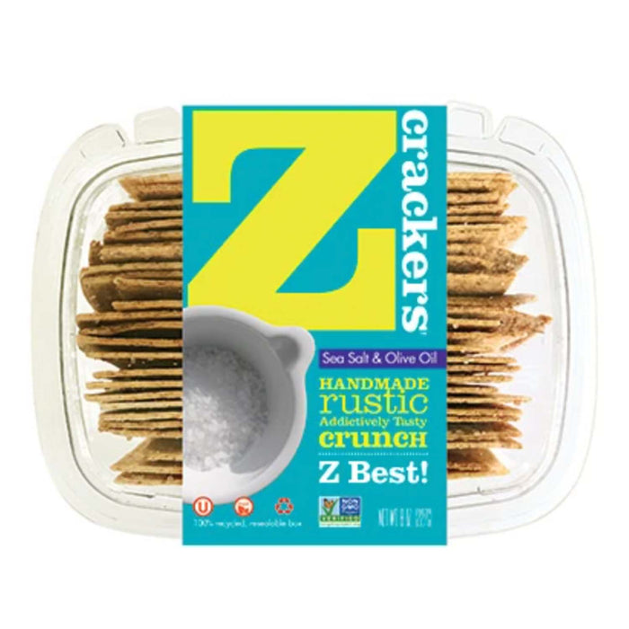 Z Crackers Sea Salt and Olive Oil