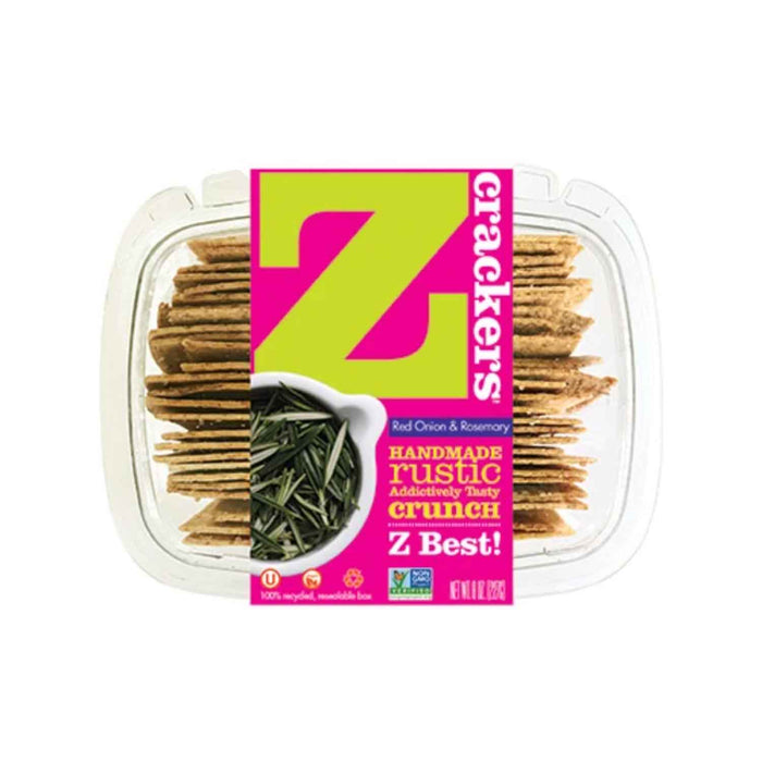 Z Crackers Red Onion and Rosemary