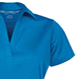 Load image into Gallery viewer, DiveSafe Golf / Polo Shirt Womens Powder Blue