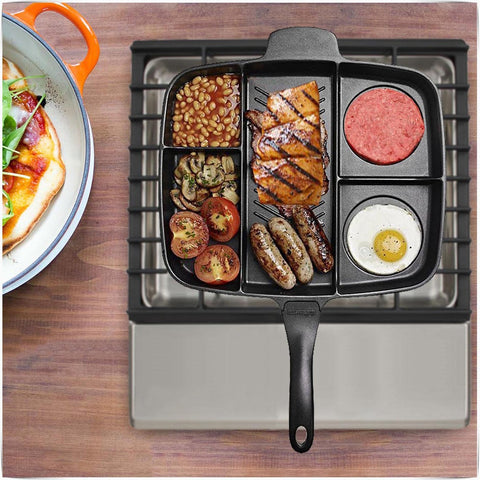 5 in 1 Magic Non-stick Grill Pan