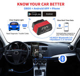 Konnwei KW903 Bluetooth Car Diagnostic Scanner Fault Detection