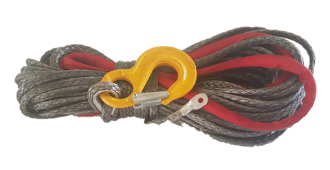 Tauro | Synthetic Winch Rope Spec 12 Dymeema Plasma 10mm x 30.0m & Ferrul