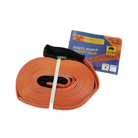 Tauro Kinetic Snatch Strap 80mm x 10m x 12000kg